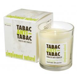Bougie parfumée Tabac anti-tabac