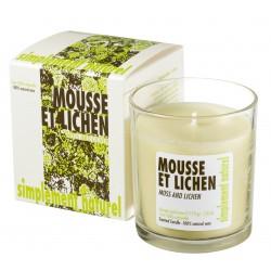 Bougie parfumée Mousse et Lichen