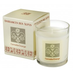 Scented candle Cinnamon Orange