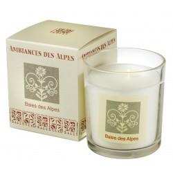 Bougie parfumée Baies des Alpes