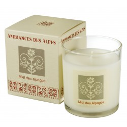 Scented candle Alps Honey