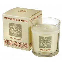 Scented candle Ceddar Wood