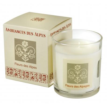 Bougie parfumée Fleurs des Alpes