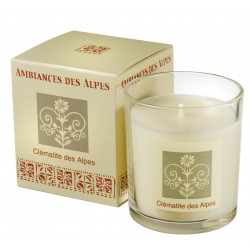 Scented candle Alps Clematis