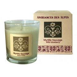 Scented Candle Wild Blueberry
