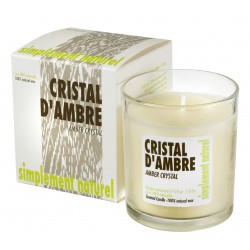 Scented candle Amber crystal