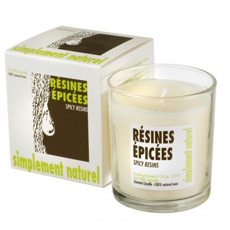 Bougie parfumée Résines Epicées
