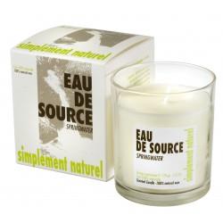 Bougie parfumée Eau de Source