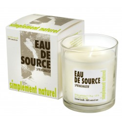 Scented candle Spring Water