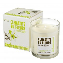 Scented candle Blooming Clematis