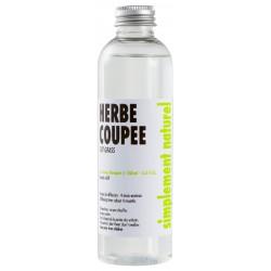 refills bottle Cut grass