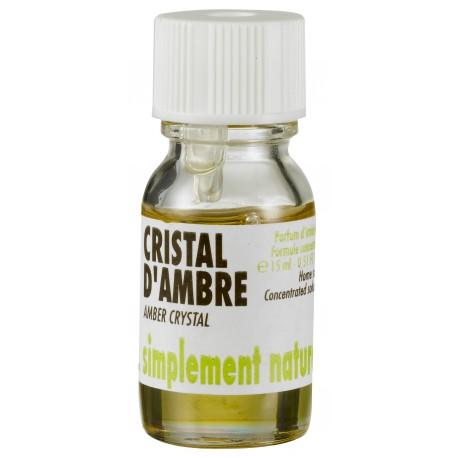 Concentrés de parfum Crsital d'Ambre