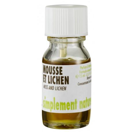 Concentrés de parfum Mousse et Lichen