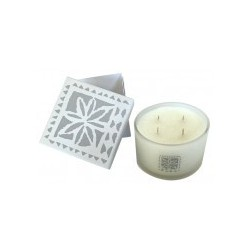 Candle 4 wicks Edelweiss